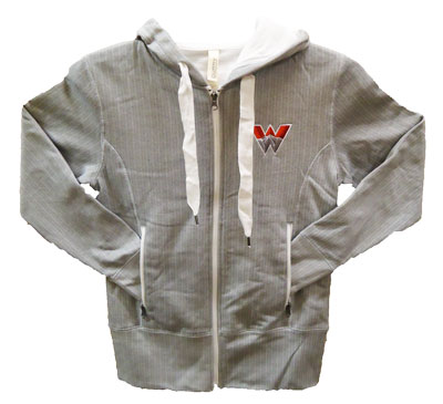 Herringbone Full Zip Hood
