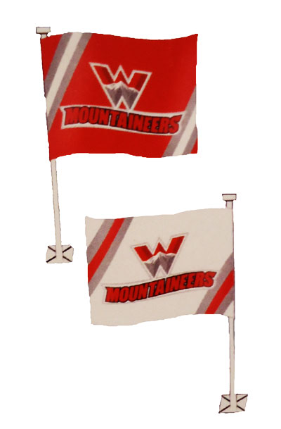 Car Flag -Mountaineer