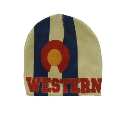 Colorado Flag Western Beanie