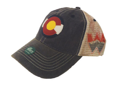 Colorado Mesh Trucker Cap - W Side