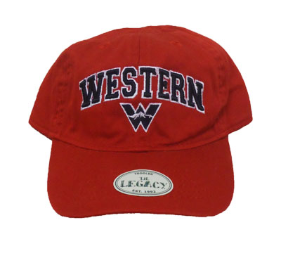 Western W Toddler Cap - Red