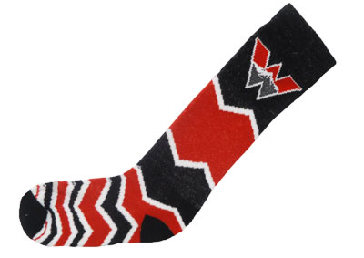 Descending Chevron Women's Sock