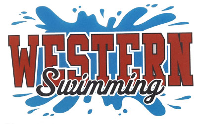 Swimming Splash Decal