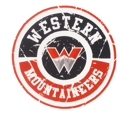 Western Mountaineers Circle Decal