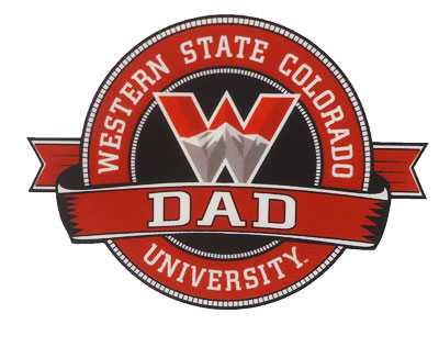 Western Dad Ribbon Decal