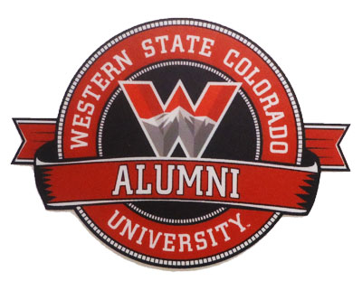 Alumni Ribbon Decal