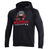 Western All Day Under Armour Football Hood