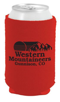 Mountaineer Can Cooler - Red