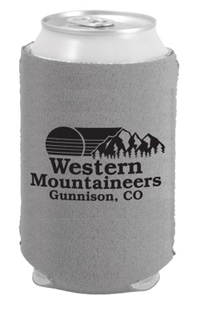 Mountaineer Can Cooler - Grey