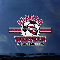Western Soccer Decal