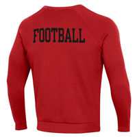 WESTERN FOOTBALL ALL DAY ALL RED UNDER AROUR - CREW
