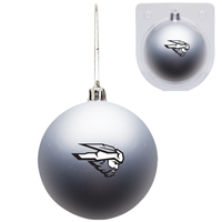 Western Shatter Resistant Ornament - Silver