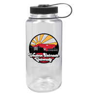 32 Oz. Widemouth Nalgene Fullcolor Uscape Farout - Clear