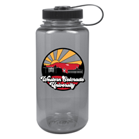 32 Oz. Widemouth Nalgene Fullcolor Uscape Farout - Smoke